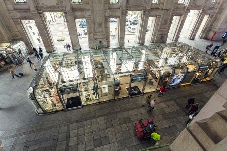 Del Conca und die Giugiaro Architektur im Hauptbahnhof von Mailand 5a154945a0d55638dc000804 - Ceramica del Conca