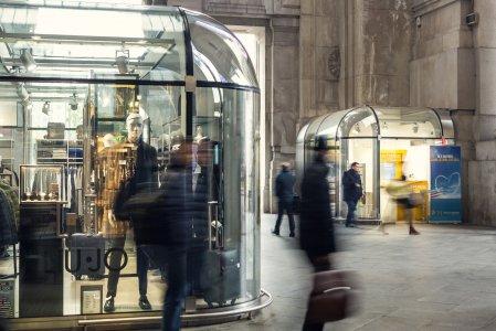 Del Conca und die Giugiaro Architektur im Hauptbahnhof von Mailand 5a154946a0d55638f2000805 - Ceramica del Conca