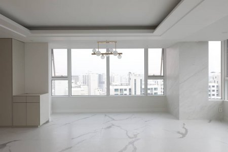 The design of Calacatta dresses a penthouse in Seoul chinyoungkorea_official%20(1) - Ceramica del Conca