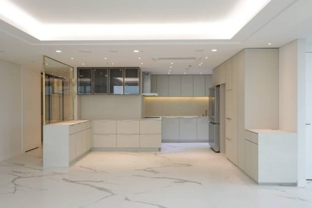 The design of Calacatta dresses a penthouse in Seoul chinyoungkorea_official%20(5) - Ceramica del Conca