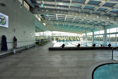 Eracle Sport Center, superfici Del Conca in tutti gli ambienti. 6eracle - Ceramica del Conca