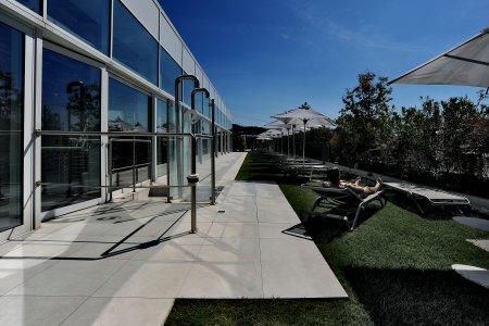 Eracle Sport Center, superfici Del Conca in tutti gli ambienti. 8eracle - Ceramica del Conca