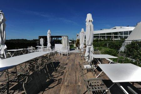 Eracle Sport Center, superfici Del Conca in tutti gli ambienti. 9eracle - Ceramica del Conca