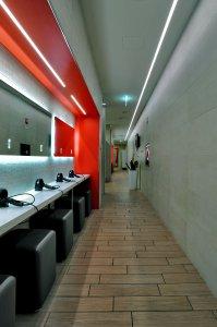 Eracle Sport Center, superfici Del Conca in tutti gli ambienti. eracle3%20eracle - Ceramica del Conca