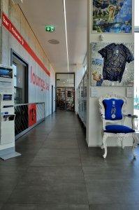 Eracle Sport Center, superfici Del Conca in tutti gli ambienti. eracle9 - Ceramica del Conca