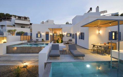 Vacanze di lusso al Kalathos Square Luxury Suites di Rodi general7 - Ceramica del Conca