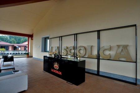 Del Conca tile in the prestigious cellar La Scolca® 54 - Ceramica del Conca