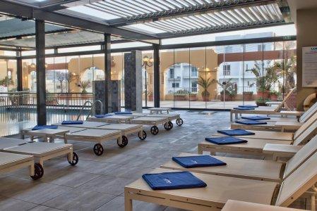 Del Conca in the Sky Lounge and Pool of the Luna Holiday Complex, in Malta 198649492-1 - Ceramica del Conca