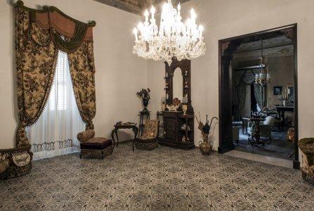 London cementine decorates gaetani counts palace in naro PALAZZO%20GAETANI_NARO%20(11) - Ceramica del Conca