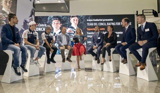 La famiglia Del Conca piange la scomparsa di Fausto Gresini team%20del%20conca%20gresini%20racing%20cersaie%202018 - Ceramica del Conca