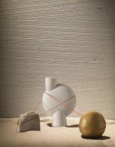 Del Conca launches Dinamika at CERSAIE 2021 DelConca_Travertino_still%20decoro - Ceramica del Conca