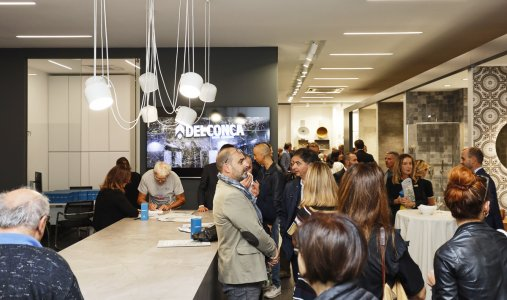 Un Flagship Store per Ceramica del Conca Inaugurazione_026-1 - Ceramica del Conca
