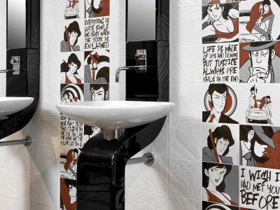 Ceramica: idee per la stanza da bagno Pred - Ceramica del Conca