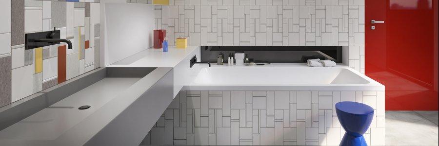 Ceramica: idee per la stanza da bagno Top - Ceramica del Conca