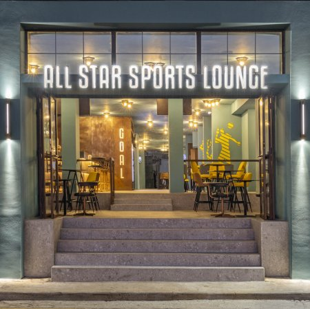 All Star Sports Louge, for a sunset over the sea and the Champions League foto - Ceramica del Conca