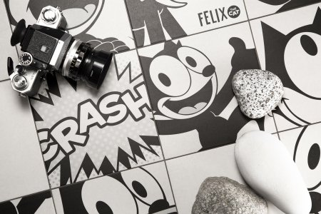 Happy 100th Birthday, Felix the Cat! FELIX_12 - Ceramica del Conca